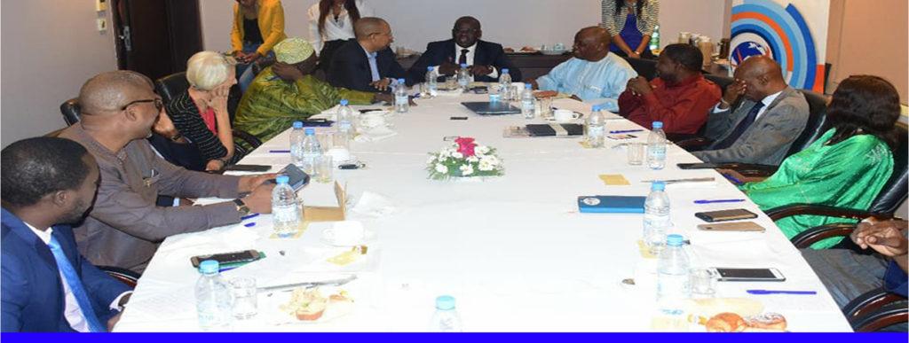 Mbagnick Diop,  Mouvement des Entreprises du Sénégal